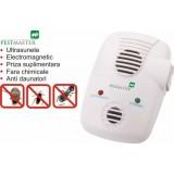 Aparat cu ultrasunete si unde electromagnetice cu efect anti soareci,anti sobolani,anti gandaci - Pestmaster EMG 3in1
