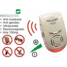 Pestmaster ZN1002 Aparat cu ultrasunete si unde electromagnetice impotriva soarecilor, rozatoarelor si insectelor cu suprafata de actiune de 150 mp